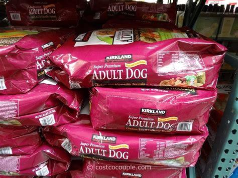 kirkland signature super premium chicken adult dog food