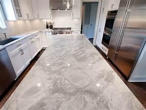 Kitchen - White Vermont Granite Island