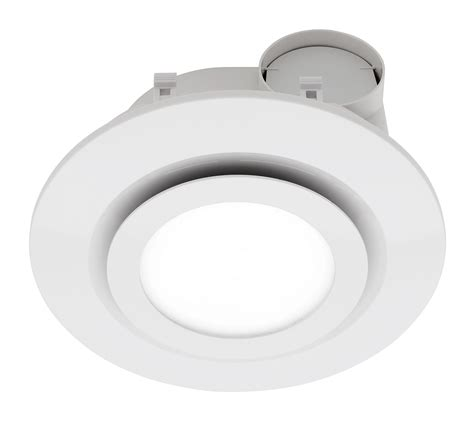 Mercator Starline 290mm Led Round Bathroom Exhaust Fan