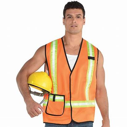 Worker Construction Vest Adult Halloween Adults Party