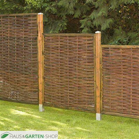 Weiden Pflanzen Als Sichtschutz by Sichtschutzzaun Weide Exclusiv F 252 R Garten Terrasse