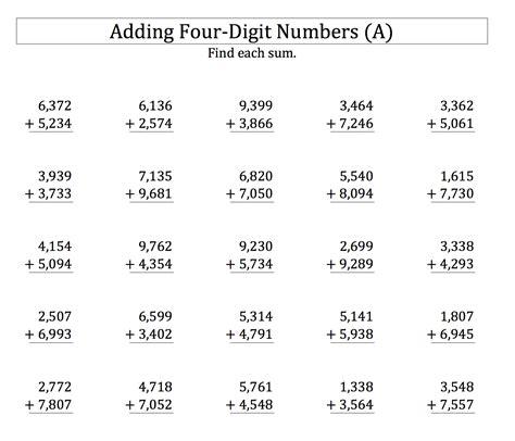 4 digits addition with decimals homework 2013 mrs s classroom