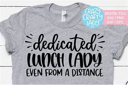 Lady Lunch Svg Dedicated Even Cut Dxf