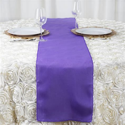 cheap table runners bulk 25 polyester 12x108 quot table runners wholesale wedding party