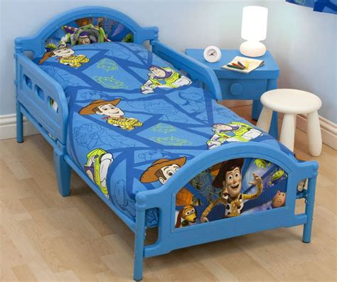 disney pixar story toddler beds with buzz lightyear and woody