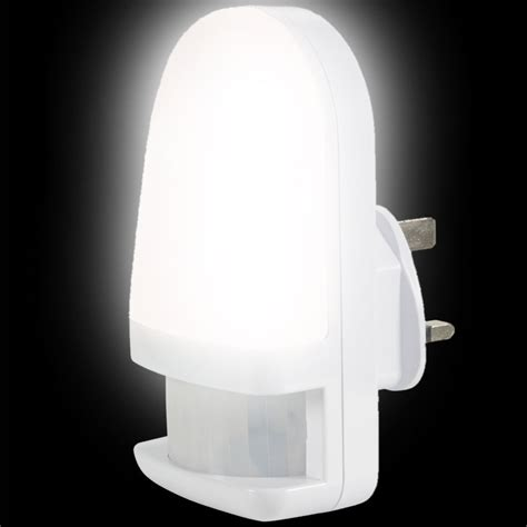 led night light with pir sensor motion sensor plug in