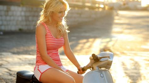 Download Beautiful Girl Riding A