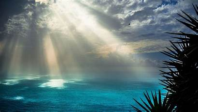 Sunrays Rays Sun 4k Sea Wallpapers Nature