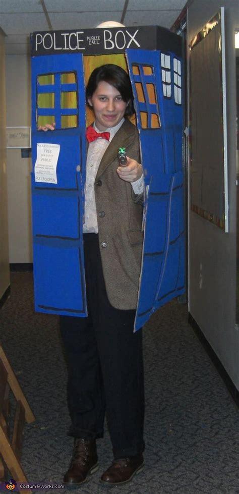 doctor    tardis halloween costume contest