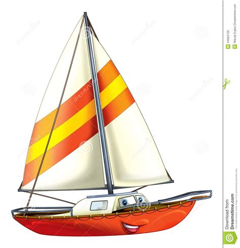 Boat Cartoon Images Free by Cartoon Boat Stock Illustration Image Of Design Children
