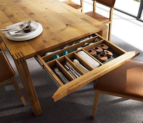 Luxury solid wood table   Loft TEAM 7   Wharfside