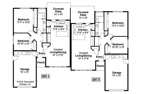 Craftsman House Plans  Torrington 60010  Associated Designs