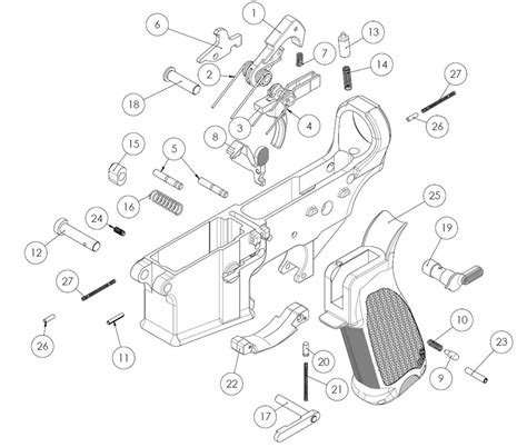 Ar 15 Assembly Diagram by Building Your Own Firearm Part 6 Assembling And Testing