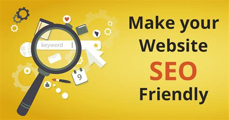 How Make Your Seo Friendly Website Top Tips