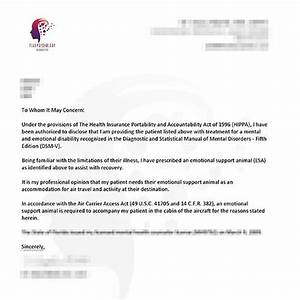 emotional support dog letter template the best letter sample With emotional support dog sample letter air travel