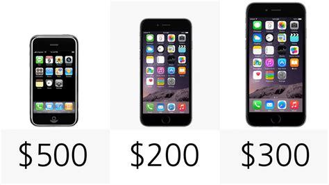 iphone plus price comparing the original iphone to the iphones 6 and 6 plus