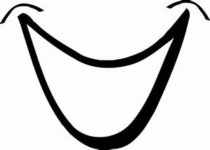 Clipart - Smiling Mouth 1