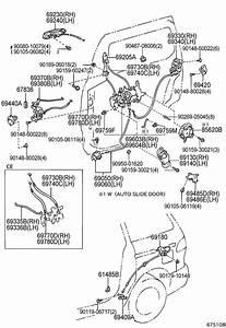 Toyota Sienna Rear Door Parts