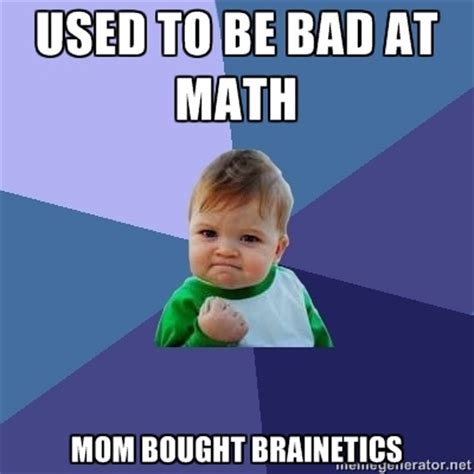 Meme Math - success kid meme memes funny education humor haha lol math brainetics successkid