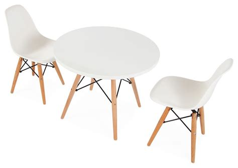 mid century retro white table 2 dsw