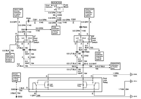 2000 Chevy Monte Carlo Fuse Diagram by Monte Carlo Wiring Schematic Diagrams
