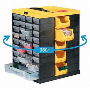 Colonne Rangement Plastique : bac a bec en plastique colonne de rangement pivotante quipe de 76 tiroirs partir de 50 50 ~ Teatrodelosmanantiales.com Idées de Décoration