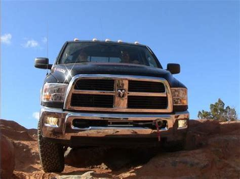 dodge power wagon  road review youtube