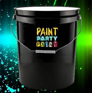 5 Gallon Washable Neon Party Paint $79 00 Jena Consulting