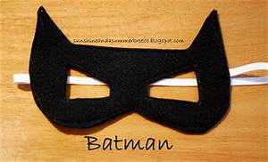 batman face mask template - sunshine and a summer breeze free template for batman and