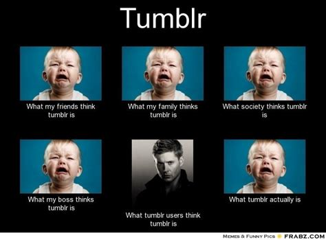 Tumblr Memes List - what people think of tumblr tumblr know your meme