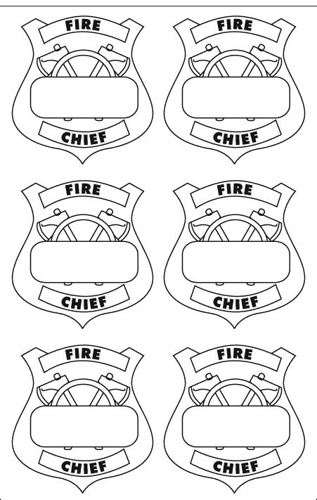 Firefighter Hat Template Preschool by Serendipitous Discovery Community Helpers Theme