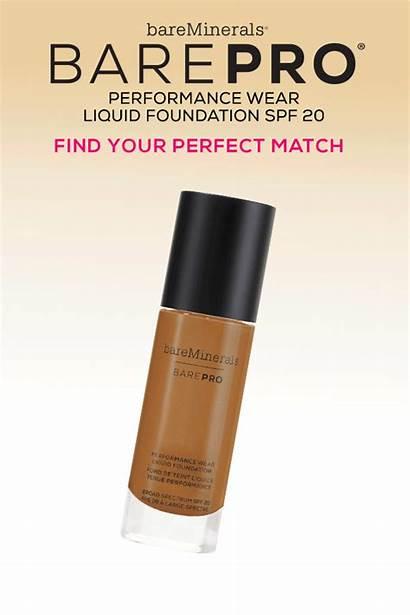 Makeup Foundation Barepro Match Shades Face Wear