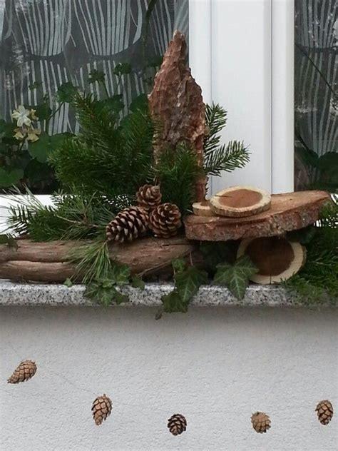 Blumenkübel Weihnachtlich Dekorieren by Fensterbank Fensterb 228 Nke Fensterbank Dekorieren