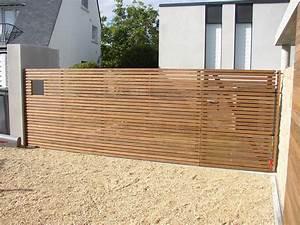 Cloture Bois Design : cl tures et portillons sign bois construction ~ Melissatoandfro.com Idées de Décoration