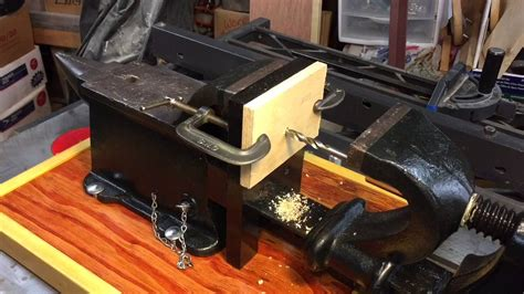 antique anvil drill vise youtube