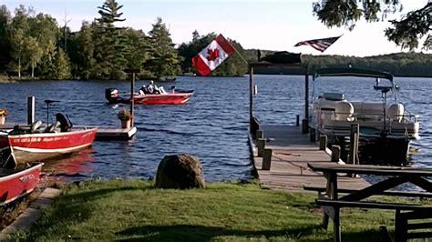 Fishing Boat Rental Wi by Moose Lake Resort Hayward Wisconsin Lodging Mystic