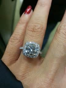 2 karat engagement ring 1000 ideas about cushion cut halo on engagement rings cushion cut engagement