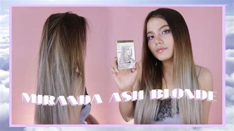 Miranda Ash Blonde / Grey Review + Tutorial Bahasa