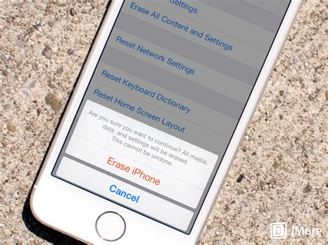 how to clear my iphone how to wipe all personal data and erase your iphone and