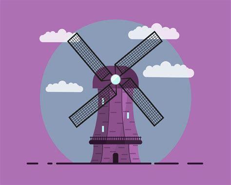 windmill vector mockup templates images vectors fonts design