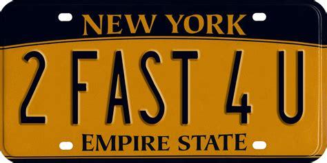 Vanity Plates Ny by New York Minute