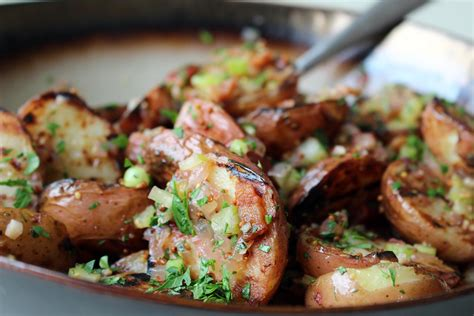 grilled potato salad with bacon father s day recipe throw your potato salad on the grill bay area bites kqed food
