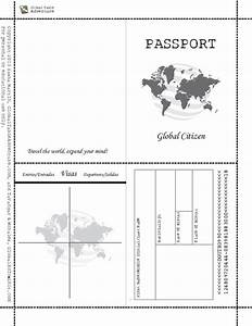 free printable passport book whencom image results With passport photo print template