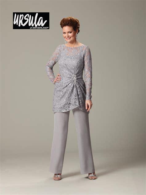 Ursula 43177 Plus Size Lace Mothers Wedding Pant Suit ...