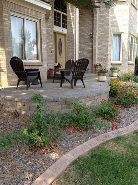 front yard patio ideas 17 best images about the great outdoors on pinterest concrete patios decks and front deck
