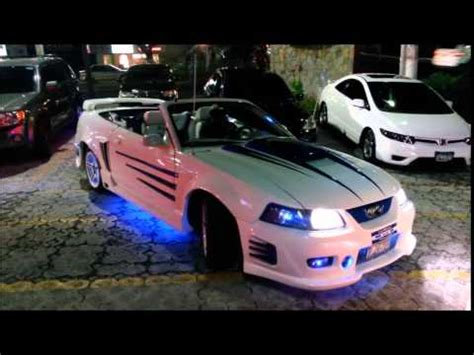 carros modificados el salvador mustang mg  youtube