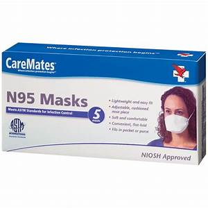 Shepard Caremates N95 Mask - Face Masks  Cerebral Palsy Cough