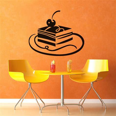 stickers pour la cuisine sticker gâteau à la cerise pour la cuisine ambiance