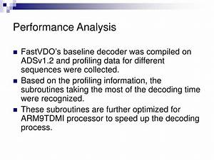 Ppt  Avc Baseline Decoder On