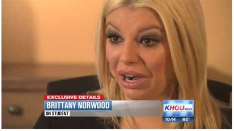 video brittany norwood nfl running  arian fosters